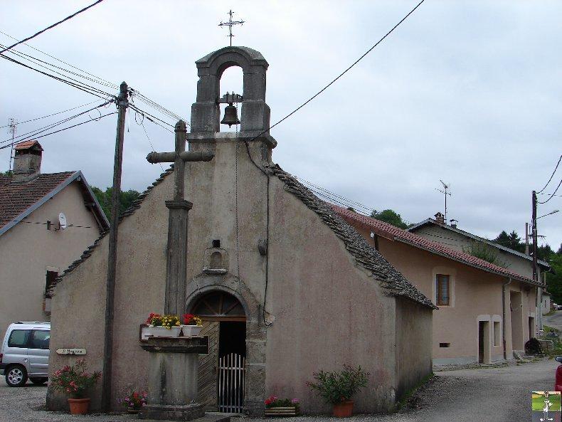 026 - St Maurice - Crillat (39) L'église de St Maurice et la chappelle St François de Sales 0332