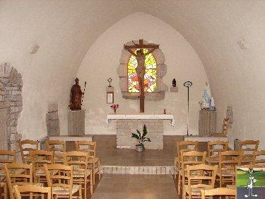 026 - St Maurice - Crillat (39) L'église de St Maurice et la chappelle St François de Sales 0336