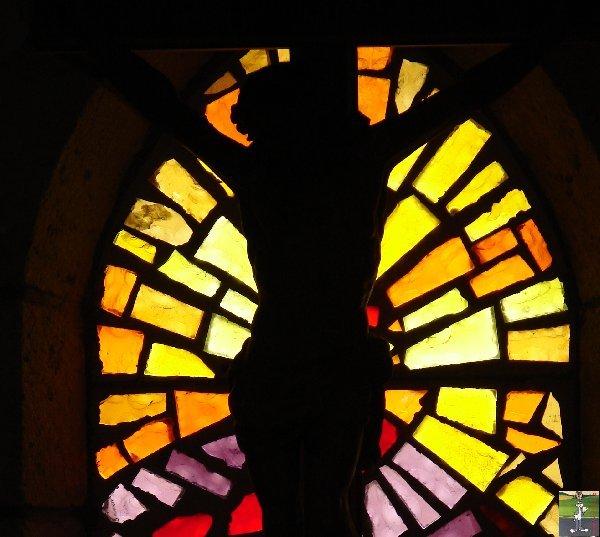 026 - St Maurice - Crillat (39) L'église de St Maurice et la chappelle St François de Sales 0340
