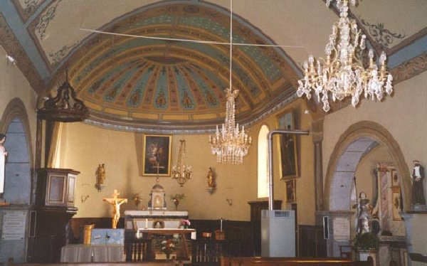 030 - Foncine le bas (39) L'égliser St Pierre es Liens et St Pierre 0391