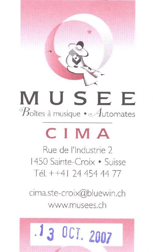 Le musée de la Boite à musique et des Automates - Ste-Croix 0083