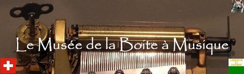 Le musée de la Boite à musique et des Automates - Ste-Croix Logo