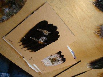 2006-06-06 : David Mayet - Peintre sur plumes. 0012