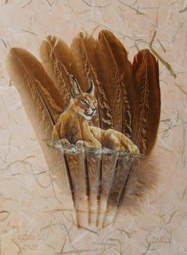 2006-06-06 : David Mayet - Peintre sur plumes. 0026