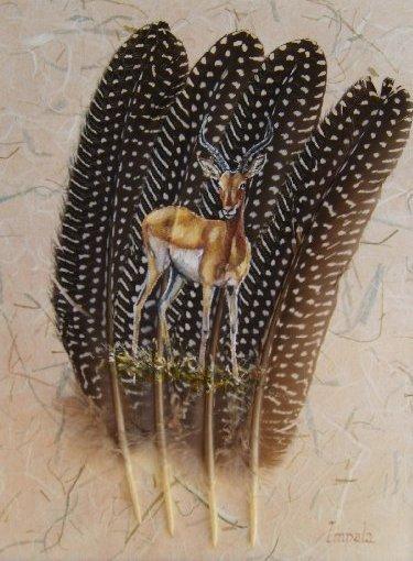 2006-06-06 : David Mayet - Peintre sur plumes. 0027