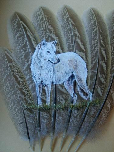 2006-06-06 : David Mayet - Peintre sur plumes. 0033