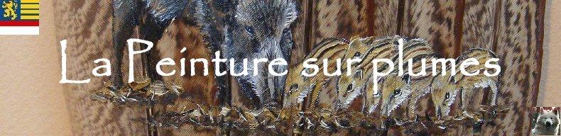 2006-06-06 : David Mayet - Peintre sur plumes. Logo