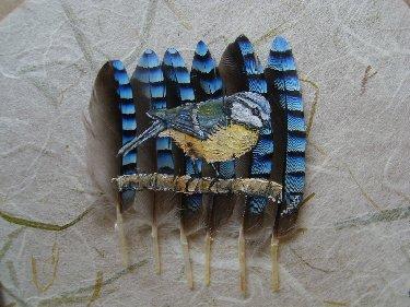 2006-06-06 : David Mayet - Peintre sur plumes. M2