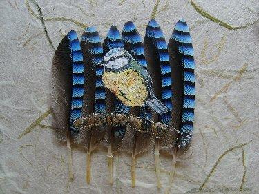 2006-06-06 : David Mayet - Peintre sur plumes. M5