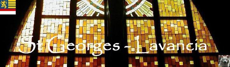047 - Lavancia (39 ) L'église St Georges Logo