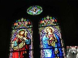 005 - Longchaumois (39) L'église St Jean Baptiste 0020