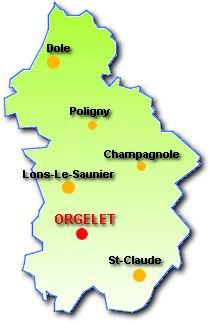 043 - Orgelet (39) L'église Notre Dame  0001