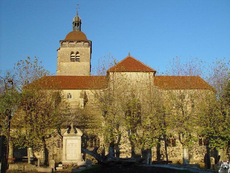 043 - Orgelet (39) L'église Notre Dame  0002