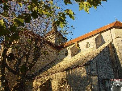 043 - Orgelet (39) L'église Notre Dame  0009