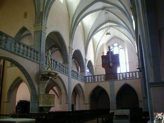 043 - Orgelet (39) L'église Notre Dame  0014