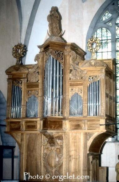043 - Orgelet (39) L'église Notre Dame  0018