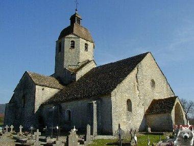 048 - St-Hymetière (39) L'église Ste Marie 0007