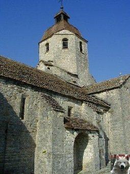 048 - St-Hymetière (39) L'église Ste Marie 0011