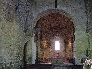 048 - St-Hymetière (39) L'église Ste Marie 0012