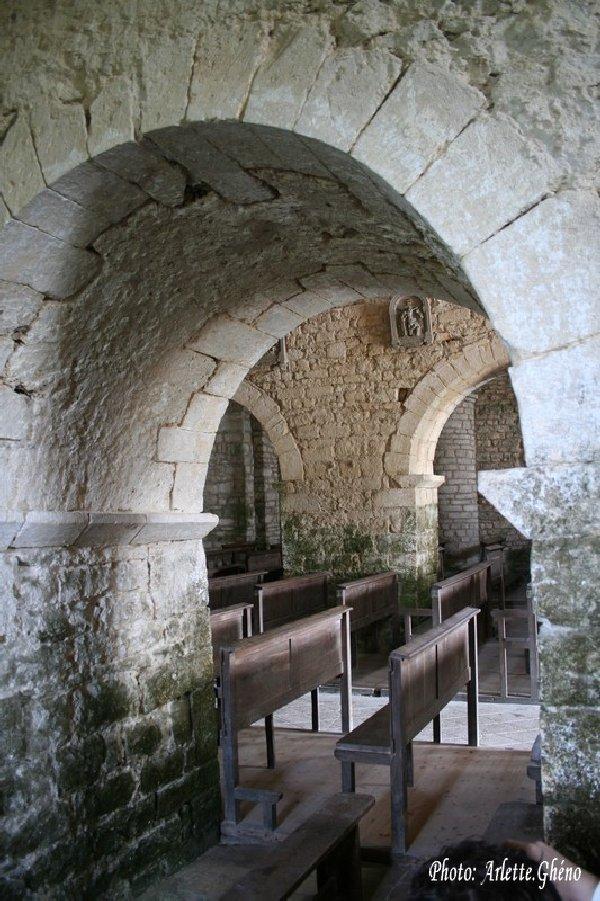 048 - St-Hymetière (39) L'église Ste Marie 0014b