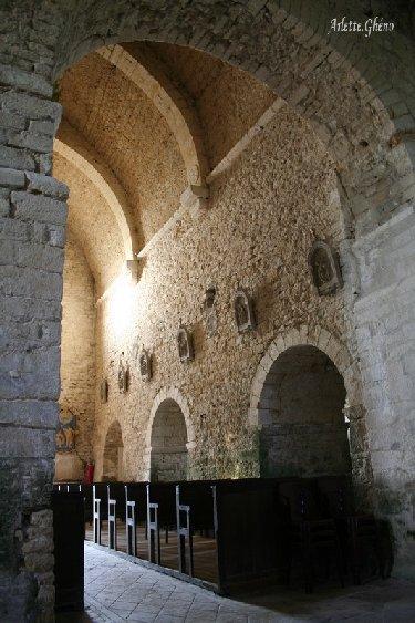 048 - St-Hymetière (39) L'église Ste Marie 0014c