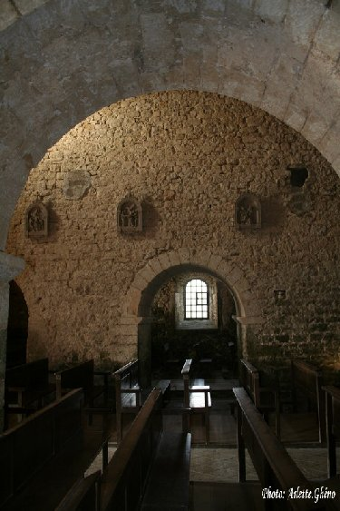 048 - St-Hymetière (39) L'église Ste Marie 0014d