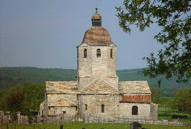 048 - St-Hymetière (39) L'église Ste Marie 0016