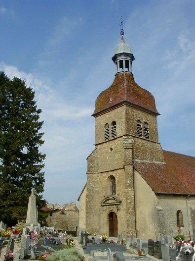 046 - Saint-Lothain (39) L'église 0004