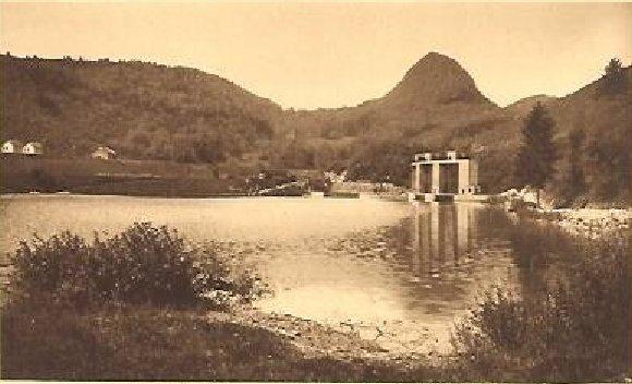 Le barrage d'Etables et la centrale de Porte-Sachet (39) 0001