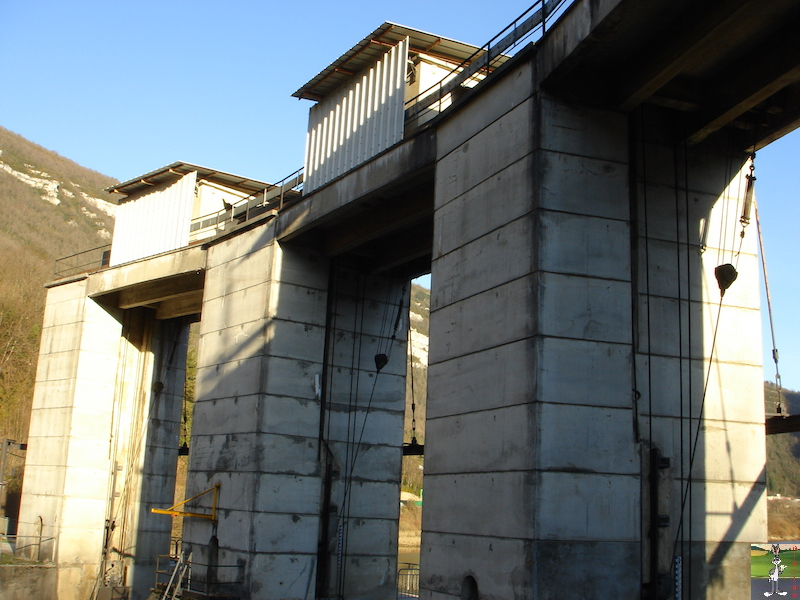 Le barrage d'Etables et la centrale de Porte-Sachet (39) 0002