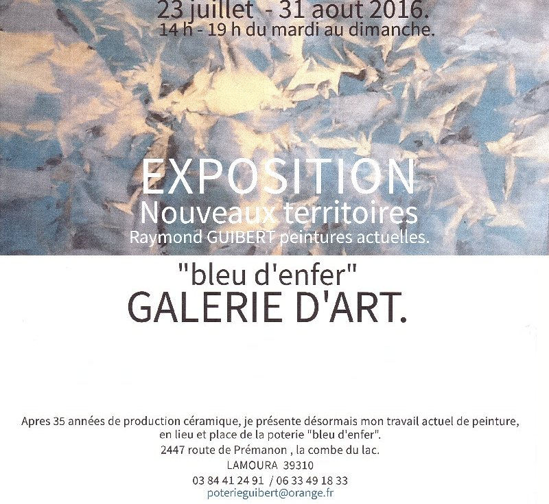 2016-07-23 : Expo Raymond Guibert à Lamoura (39) 2016-07-23_RG_00