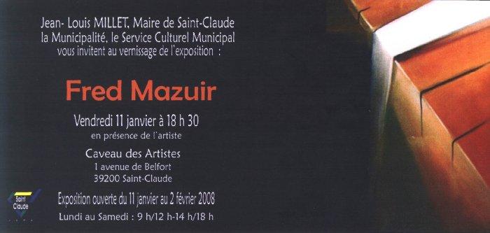 2008-01-10 : Fred Mazuir - Caveau des Artistes 2008-01-11_caveau