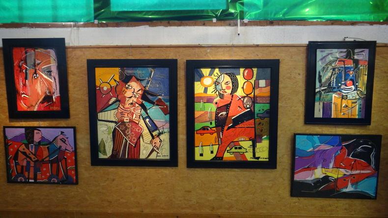 2015-08-01 : Exposition Fred Mazuir à Longchaumois (39) 004