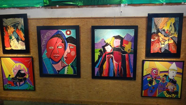 2015-08-01 : Exposition Fred Mazuir à Longchaumois (39) 008