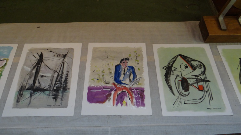 2015-08-01 : Exposition Fred Mazuir à Longchaumois (39) 009