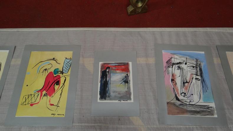 2015-08-01 : Exposition Fred Mazuir à Longchaumois (39) 023