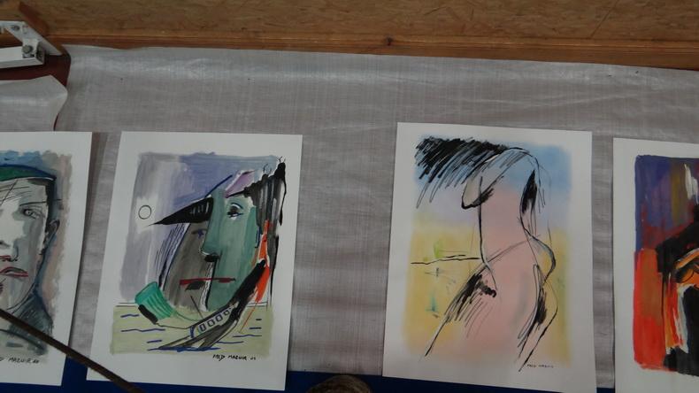 2015-08-01 : Exposition Fred Mazuir à Longchaumois (39) 032