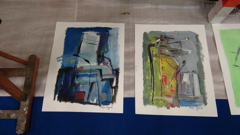 2015-08-01 : Exposition Fred Mazuir à Longchaumois (39) 034