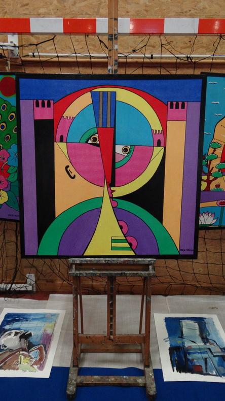 2015-08-01 : Exposition Fred Mazuir à Longchaumois (39) 036