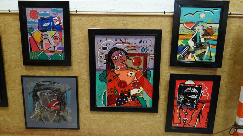 2015-08-01 : Exposition Fred Mazuir à Longchaumois (39) 040