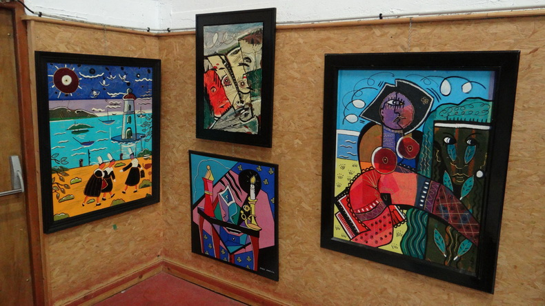2015-08-01 : Exposition Fred Mazuir à Longchaumois (39) 043