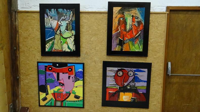 2015-08-01 : Exposition Fred Mazuir à Longchaumois (39) 046