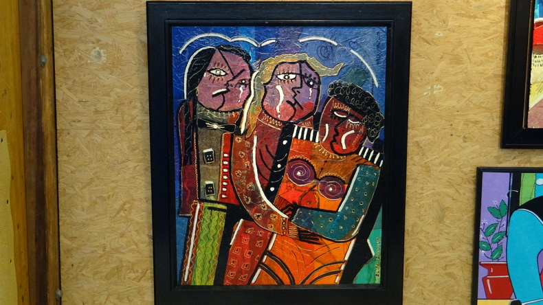 2015-08-01 : Exposition Fred Mazuir à Longchaumois (39) 063