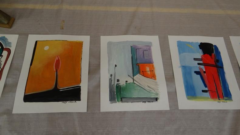 2015-08-01 : Exposition Fred Mazuir à Longchaumois (39) 067