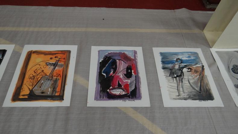 2015-08-01 : Exposition Fred Mazuir à Longchaumois (39) 078