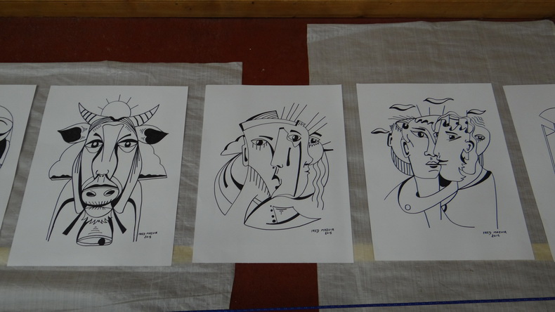 2015-08-01 : Exposition Fred Mazuir à Longchaumois (39) 085