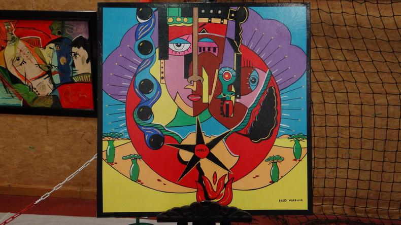 2015-08-01 : Exposition Fred Mazuir à Longchaumois (39) 090