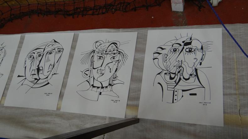 2015-08-01 : Exposition Fred Mazuir à Longchaumois (39) 092