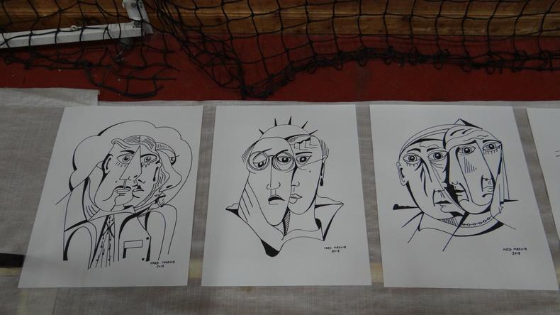 2015-08-01 : Exposition Fred Mazuir à Longchaumois (39) 093
