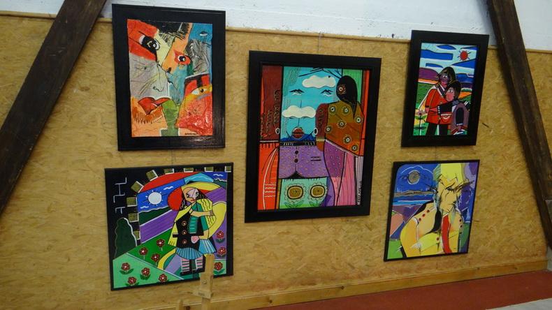 2015-08-01 : Exposition Fred Mazuir à Longchaumois (39) 098